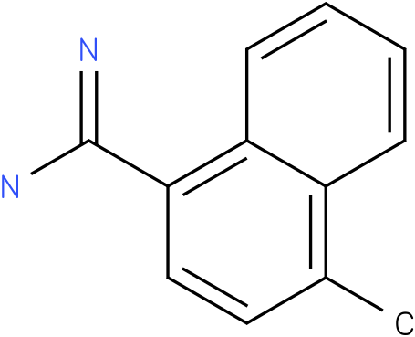4-Methyl-naphthalene-1-carboxamidine