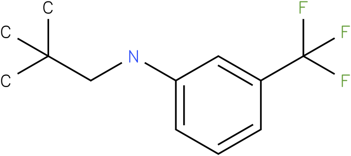 (2,2-Dimethyl-propyl)-(3-trifluoromethyl-phenyl)-amine