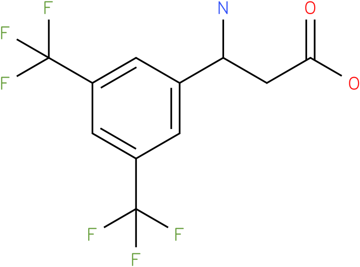 3-Amino-3-(3,5-bis-trifluoromethyl-phenyl)-propionic acid