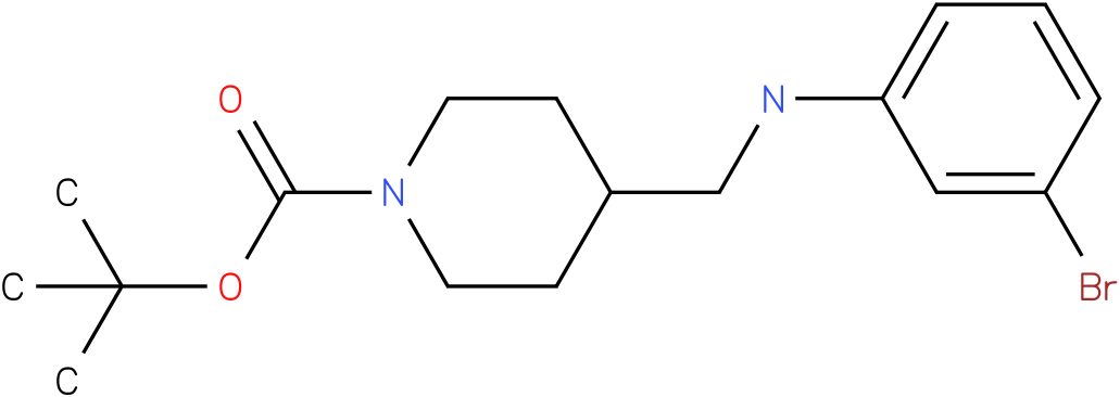1-Boc-4-[(3-Bromo-phenylamino)-methyl]-piperidine
