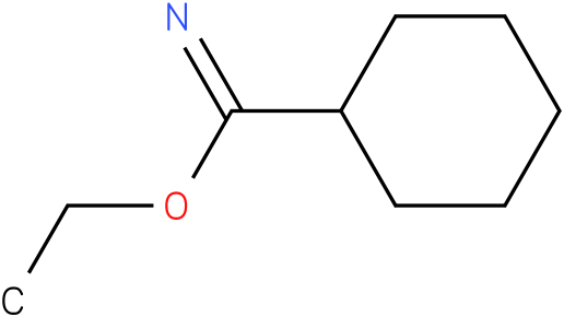 Cyclohexanecarboximidic acid ethyl ester