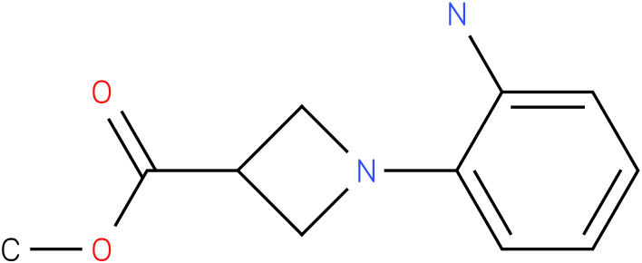 1-(2-Amino-phenyl)-azetidine-3-carboxylic acid methyl ester