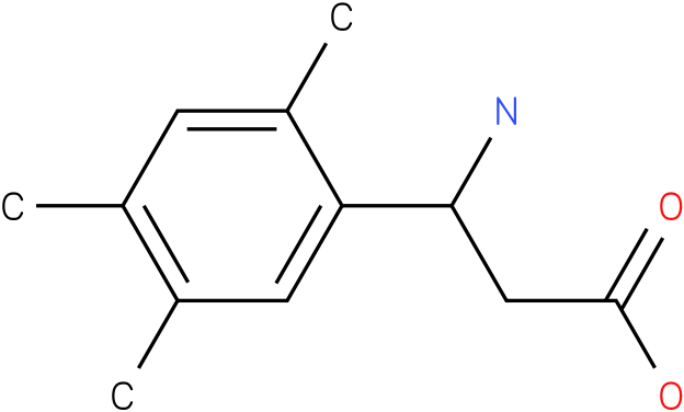 3-Amino-3-(2,4,5-trimethylphenyl)-propionic acid
