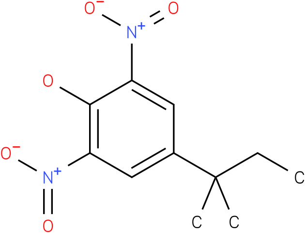 4-(1,1-Dimethyl-propyl)-2,6-dinitro-phenol
