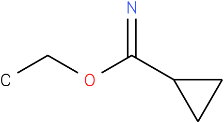 Cyclopropanecarboximidic acid ethyl ester