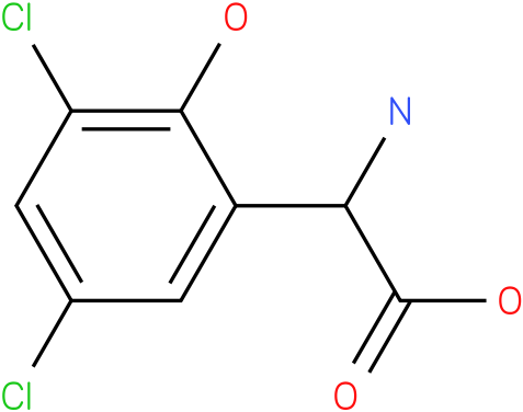 Amino-(3,5-dichloro-2-hydroxy-phenyl)-acetic acid