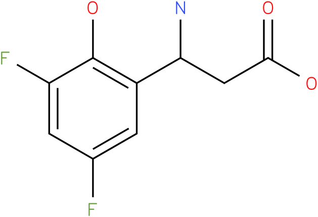 3-Amino-3-(3,5-difluoro-6-hydroxy-phenyl)-propionic acid