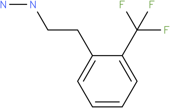 1-(2-(trifluoromethyl)phenethyl)hydrazine