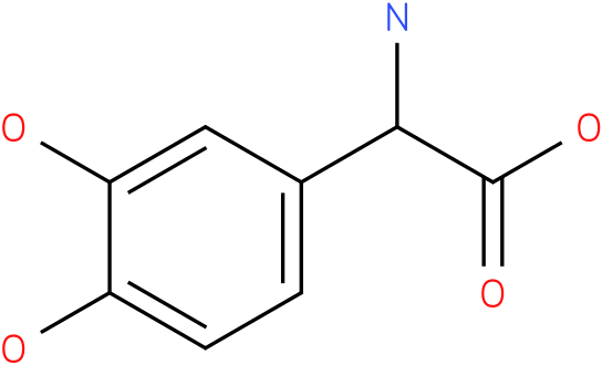 Amino-(3,4-dihydroxy-phenyl)-acetic acid