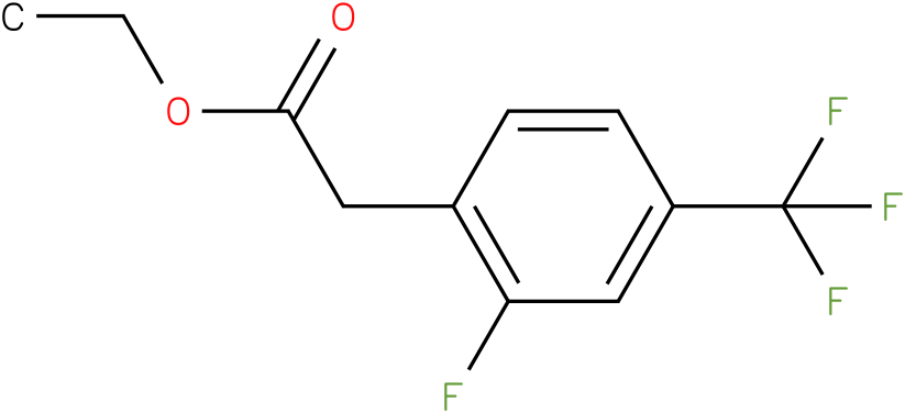 ethyl-2-fluoro-4-(trifluoromethyl)phenylacetate