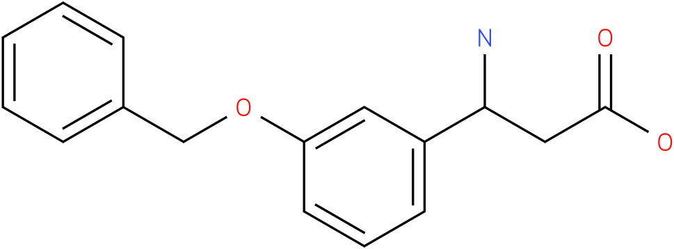 3-Amino-3-(3-benzyloxy-phenyl)-propionic acid
