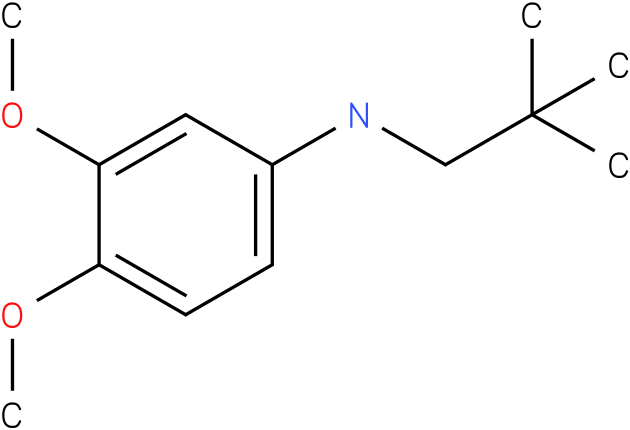 (2,2-Dimethylpropyl)-(3,4-dimethoxy-phenyl)-amine