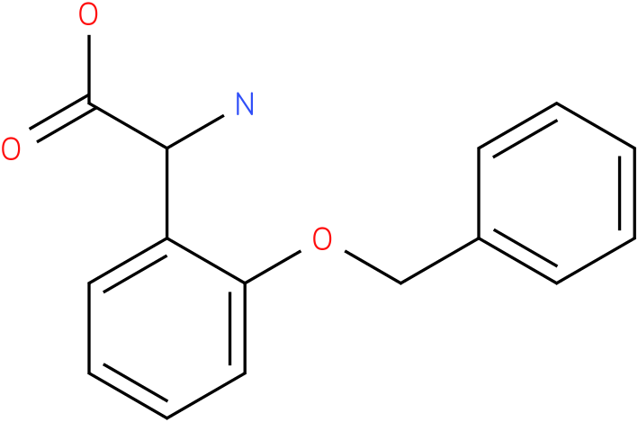 Amino-(2-benzyloxy-phenyl)-acetic acid