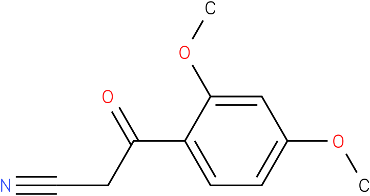 2,4-Dimethoxybenzoylacetonitrile