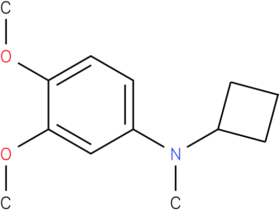 Cyclobutylmethyl-(3,4-dimethoxy-phenyl)-amine