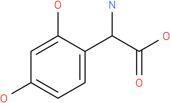Amino-(2,4-dihydroxy-phenyl)-acetic acid