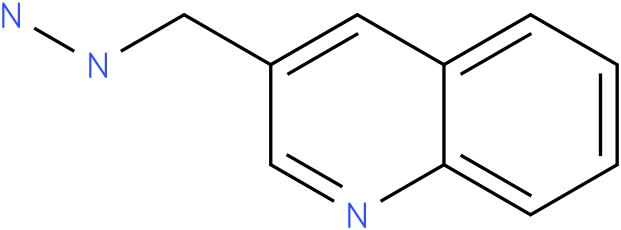1-((quinolin-3-yl)methyl)hydrazine
