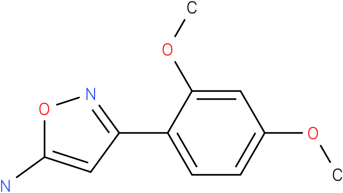 3-(2,4-Dimethoxy-phenyl)-isoxazol-5-ylamine
