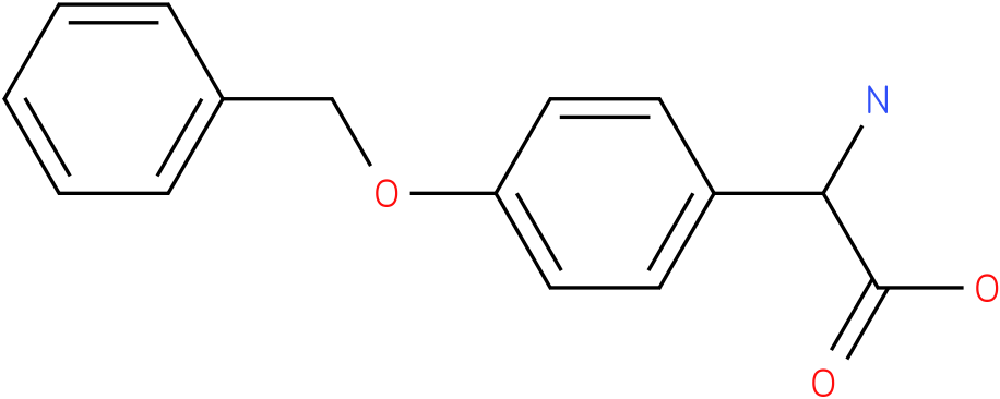 Amino-(4-benzyloxy-phenyl)-acetic acid