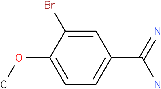 3-Bromo-4-methoxy-benzamidine