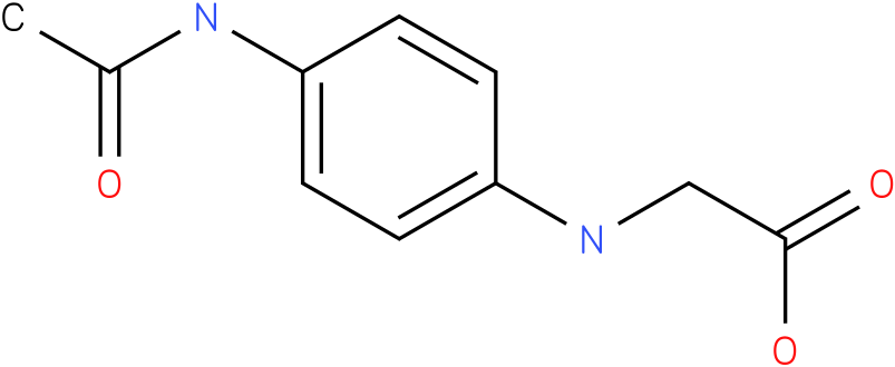 (4-Acetylamino-phenyl)-amino-acetic acid