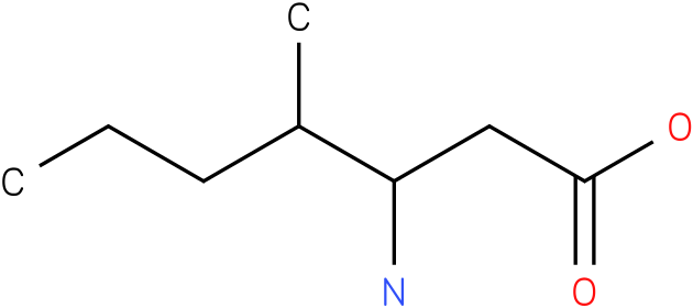 3-Amino-4-methyl-heptanoic acid