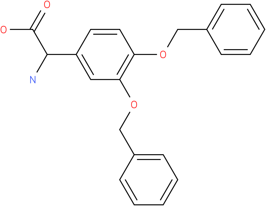 Amino-(3,4-dibenzyloxy-phenyl)-acetic acid