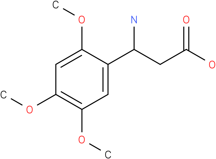 3-Amino-3-(2,4,5-trimethoxy-phenyl)-propionic acid