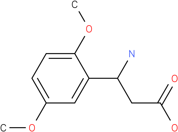3-Amino-3-(2,5-dimethoxy-phenyl)-propionic acid