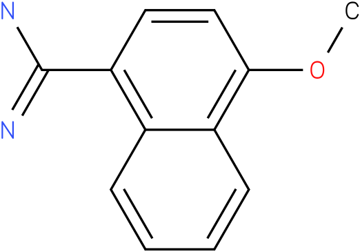 4-Methoxy-naphthalene-1-carboxamidine