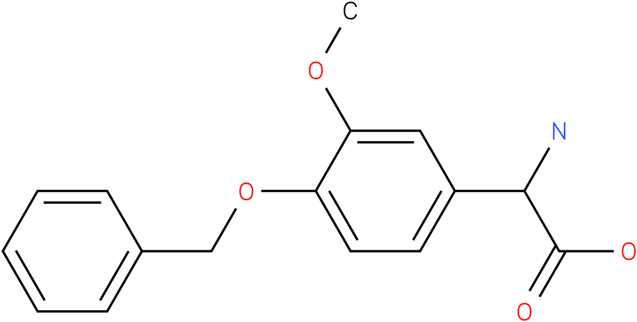 Amino-(4-benzyloxy-3-methoxy-phenyl)-acetic acid