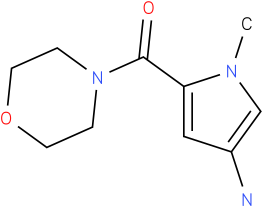 (4-Amino-1-methyl-pyrrol-2-yl)-morpholin-4-yl-methanone
