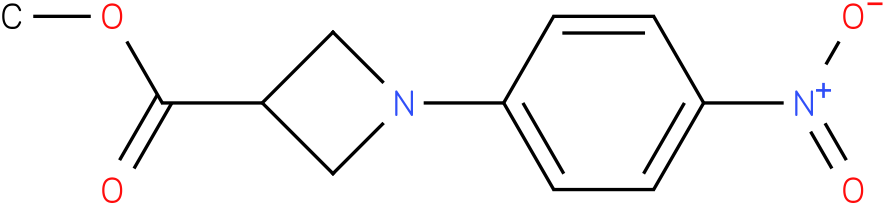 1-(4-Nitro-phenyl)-azetidine-3-carboxylic acid methyl ester