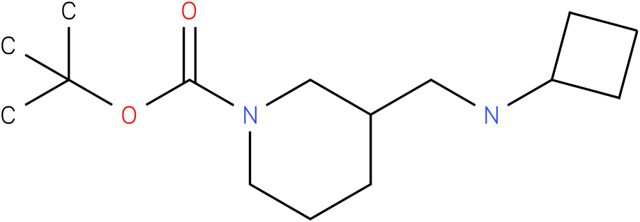 1-Boc-3-Cyclobutylaminomethyl-piperidine
