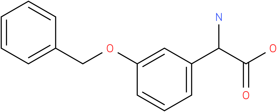 Amino-(3-benzyloxy-phenyl)-acetic acid