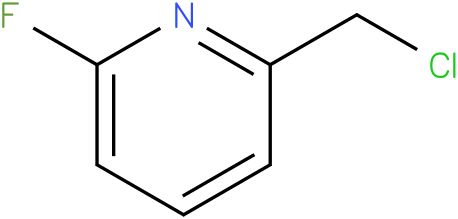 2-CHLOROMETHYL-6-FLUOROPYRIDINE