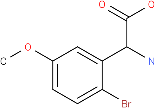Amino-(2-bromo-5-methoxy-phenyl)-acetic acid