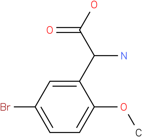Amino-(5-bromo-2-methoxy-phenyl)-acetic acid