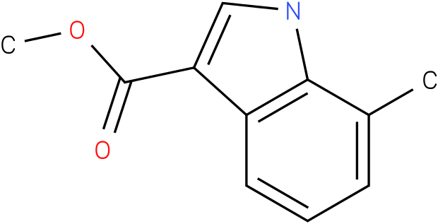 7-methyl-1h-indole-3-carbpxylic acid methyl ester