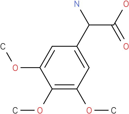 Amino-(3,4,5-trimethoxy-phenyl)-acetic acid
