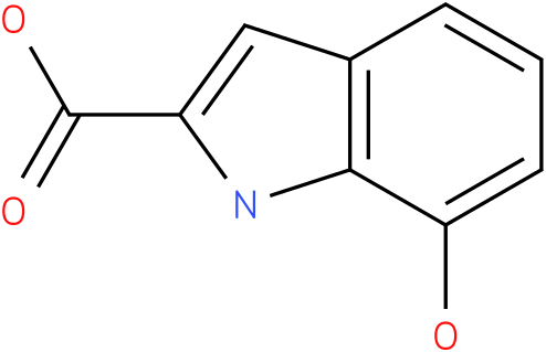 7-hydroxyindole-2-carboxylic acid