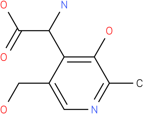 Amino-(3-hydroxy-5-hydroxymethyl-2-methyl-pyridin-4-yl)-acetic acid
