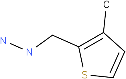 1-[(3-methylthiophen-2-yl)methyl]hydrazine
