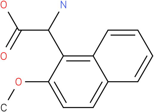 Amino-(2-methoxy-naphthalen-1-yl)-acetic acid