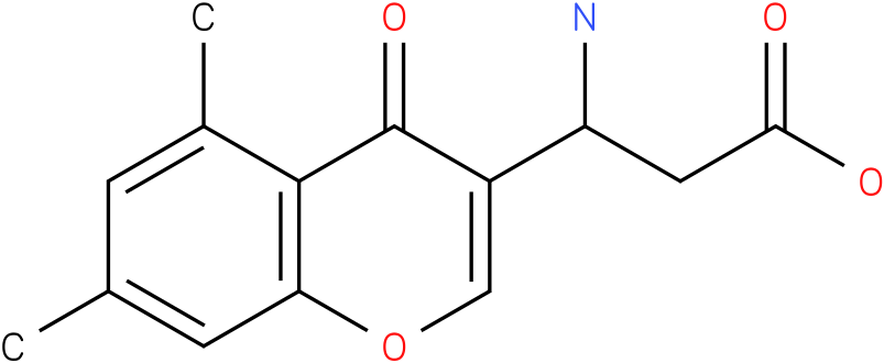 3-Amino-3-(5,7-dimethyl-4-oxo-4H-chromen-3-yl)-propionic acid
