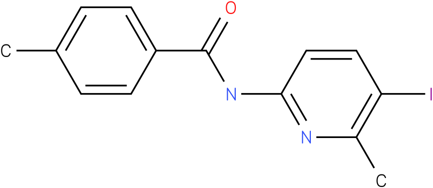Benzamide,N-(5-iodo-6-methyl-2-pyridinyl)-4-methyl-