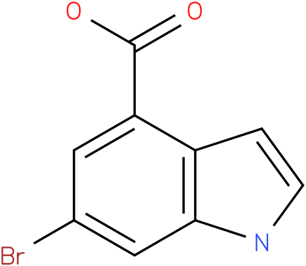 6-bromo-4-indole carboxylic acid