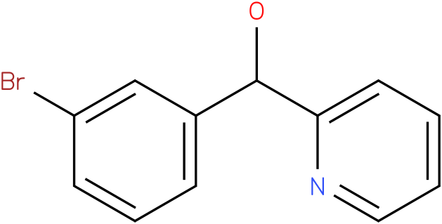2-PYRIDINEMETHANOL, ALPHA-(3-BROMOPHENYL)-