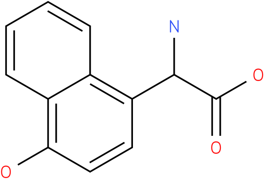 Amino-(4-hydroxy-naphthalen-1-yl)-acetic acid