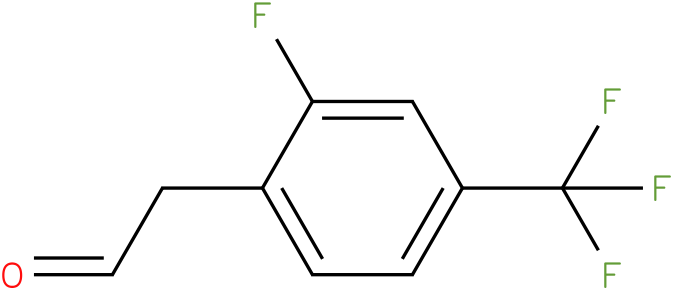 2-(2-fluoro-4-(trifluoromethyl)phenyl)acetaldehyde
